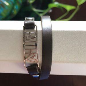 Faith Wrap Bracelet